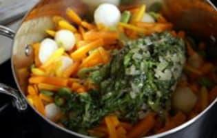 Jardinière de légumes : l'assemblage de la jardinière - Etape 8