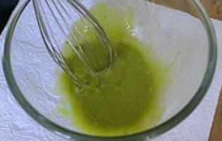Mayonnaise à l'huile d'olive et moutarde aux herbes - Etape 4