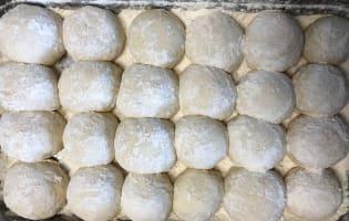 Pâte à pizza sans pétrissage à fermentation lente - Etape 4