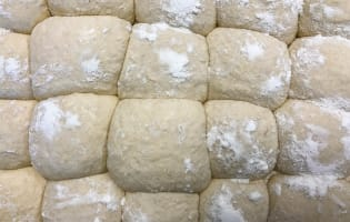 Pâte à pizza sans pétrissage à fermentation lente - Etape 6