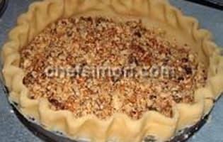 Tarte aux noix de pécan - Etape 2