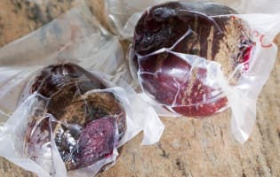 Betteraves rouges cuites sous-vide - Etape 4
