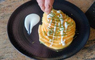 Carpaccio de melon à la menthe - Etape 8