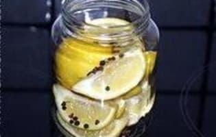 Citrons confits à l'huile d'olive - Etape 7