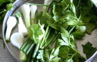 Sauce verte - Etape 4