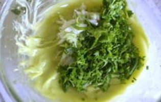Sauce verte - Etape 6