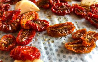 Tomates séchées - Etape 3