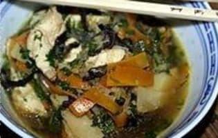 Poulet sauté au wok - Etape 12