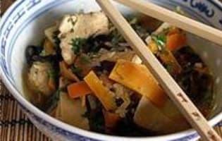 Poulet sauté au wok - Etape 11