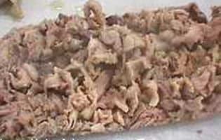 Feuilletés d'andouillettes à la moutarde ancienne - Etape 6