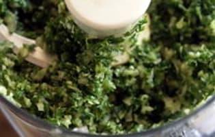 Beurre d'ail - Etape 6