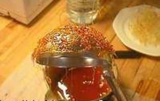 Dôme en sucre filé - Etape 7