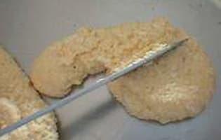 Côtelettes d'oeufs durs - Etape 6