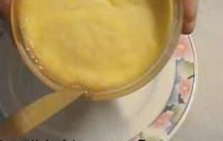 Démoulage des crèmes renversées - Etape 2