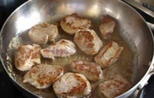 Filet mignon au poivre - Etape 4