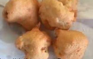 Fritots de chou fleur - Etape 12