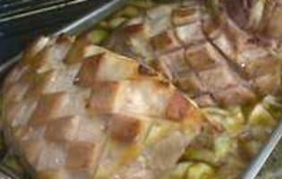 Jambon braisé  - Etape 4