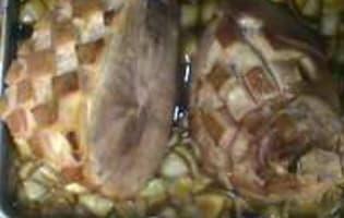 Jambon braisé  - Etape 5