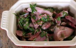 Terrine de jarret de porc aux herbes - Etape 7