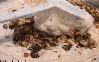 Nougat glacé : l'assemblage - Etape 4