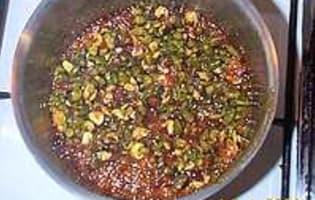 Nougatine au fructose et sirop d'érable - Etape 3
