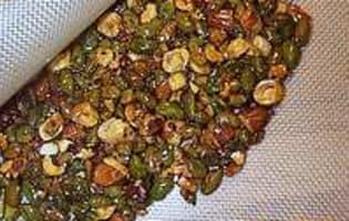 Nougatine au fructose et sirop d'érable - Etape 7