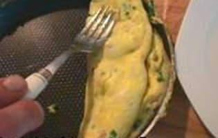 Omelette aux truffes - Etape 4
