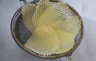 Paniers de pommes de terre - Etape 3