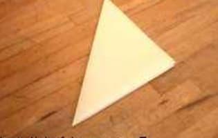 Découper un disque de papier sulfurisé - Etape 4