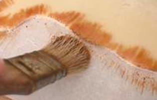Parchemin en pâte d'amande - Etape 5