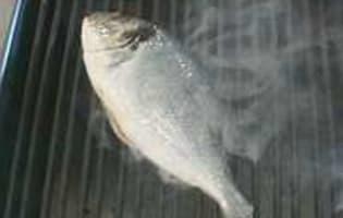 Griller un poisson entier - Etape 3