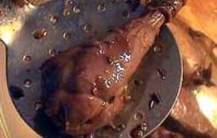 Salmis de faisan - La sauce - Etape 4