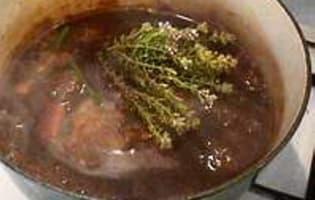 Sauce madère - Etape 4
