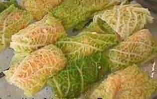 Saumon en feuilles de chou - Etape 9