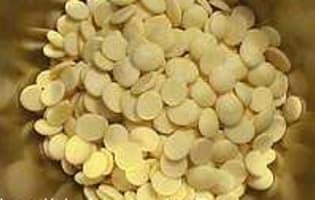 Ganache blanche ivoire - Etape 1