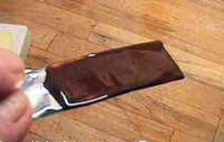 Tabler le chocolat au marbre - Etape 12