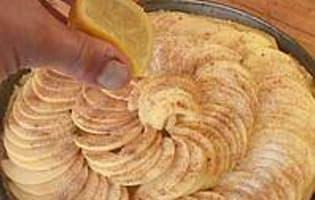 Tarte fine aux pommes - Etape 11