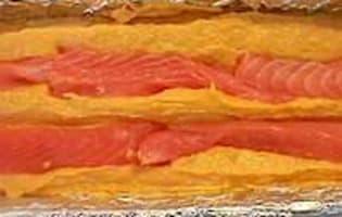 Terrine de poisson 3 couleurs - La cuisson - Etape 7