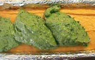 Terrine de poisson 3 couleurs - La cuisson - Etape 8