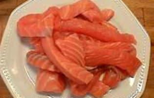 Terrine de poisson 3 couleurs - La cuisson - Etape 3
