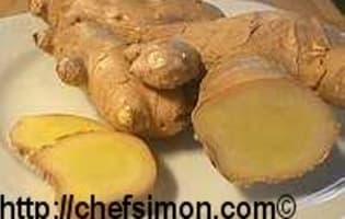 Truffes chocolat gingembre et poivre - Etape 1