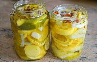 Achards de citrons et gingembre - Etape 9