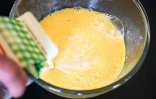Appareil à crème prise salé - Etape 3
