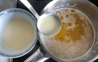Clarifier le beurre - Etape 3
