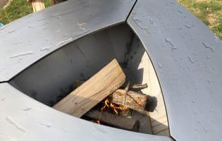 Culottage de la plancha Firestyl Autentik - Etape 3