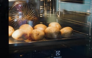 Pommes de terre au four - Etape 2