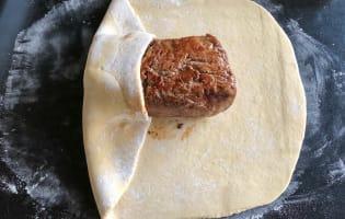 Filet de boeuf en brioche - Etape 7