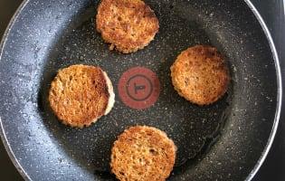 Filets de rougets sur canapés  - Etape 2