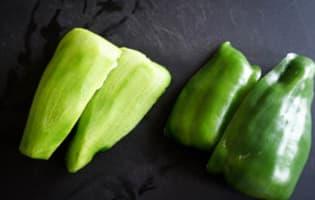 Gaspacho tomates concombre et basilic - Etape 2