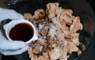 Terrine de foie gras à l'anguille fumée - Etape 1